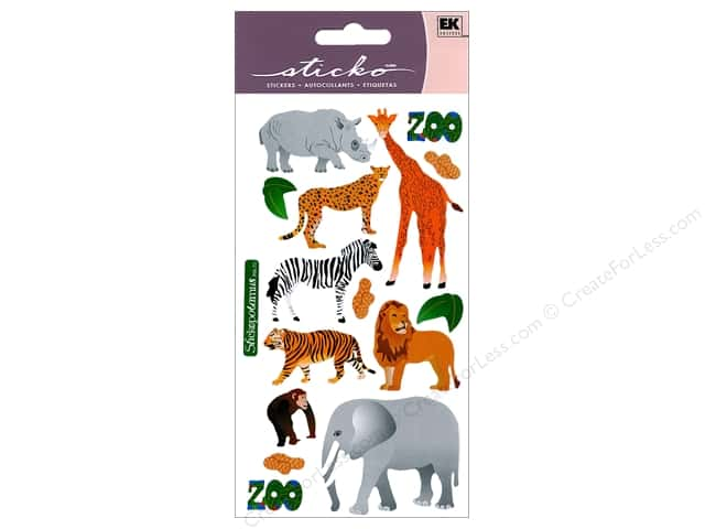 EK Sticko Stickers Zoo