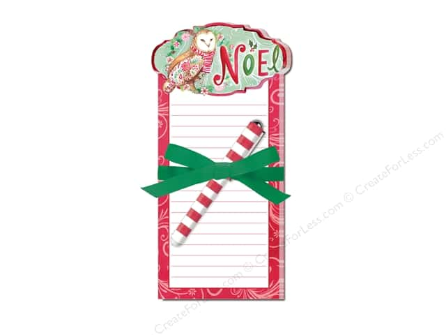 Lady Jayne Note Pad with Pen Woodland