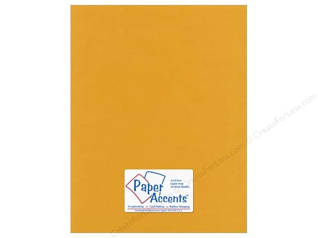 Paper Accents Pearlized Paper 8 1/2 x 11 in. #8810 24kt Gold (25 sheets)