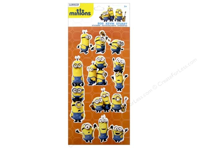EK Universal Minions Stickers Group