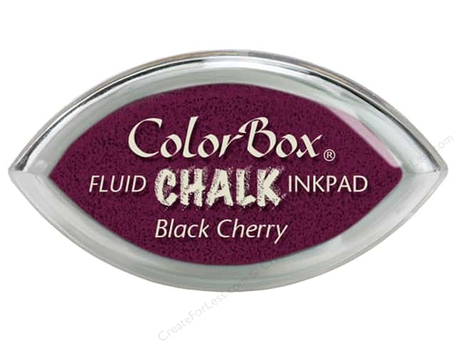 ColorBox Fluid Chalk Ink Pad Cat's Eye Black Cherry