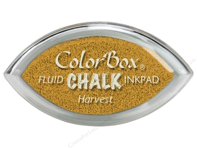 ColorBox Fluid Chalk Ink Pad Cat's Eye Harvest
