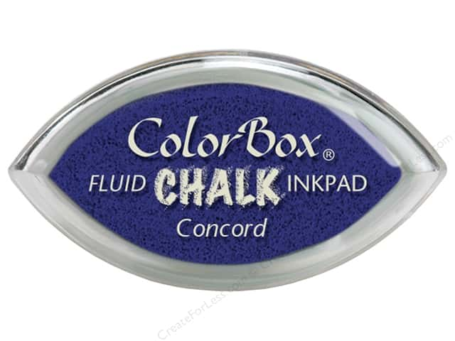 ColorBox Fluid Chalk Ink Pad Cat's Eye Concord