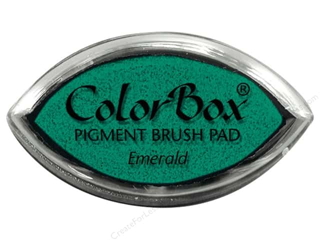 ColorBox Pigment Ink Pad Cat's Eye Emerald