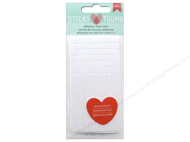 American Crafts Sticky Thumb Adhesive Foam Tabs 272 pc.