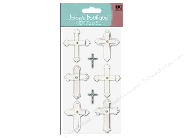 Jolee's Boutique Stickers Large Crosses
