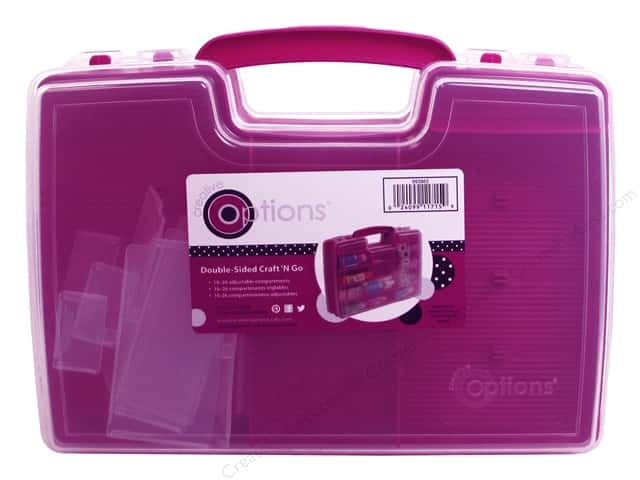 Creative Options Organizer Storage Double Sided Craft N Go Magenta