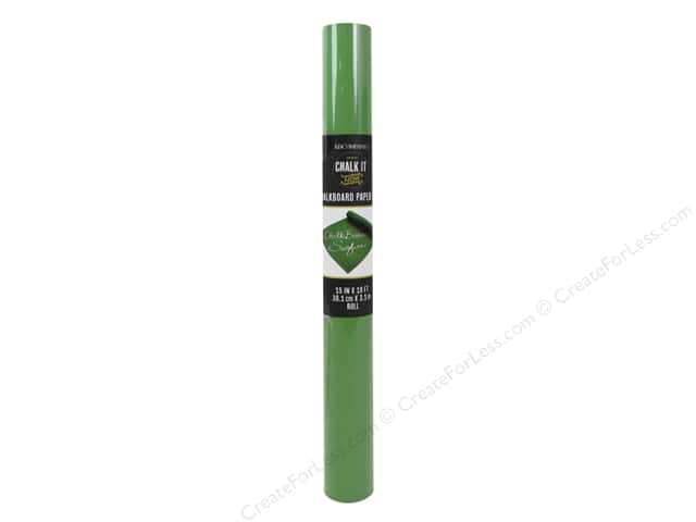 K&Company Chalk It Now Paper Roll Green