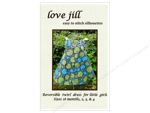 Love Jill Reversible Twirl Dress 18M To Size 4 Pattern