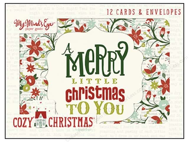 My Minds Eye Collection Cozy Christmas Card Set