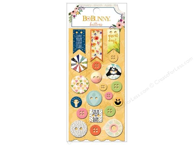 Bo Bunny Buttons 21 pc. Calendar Girl