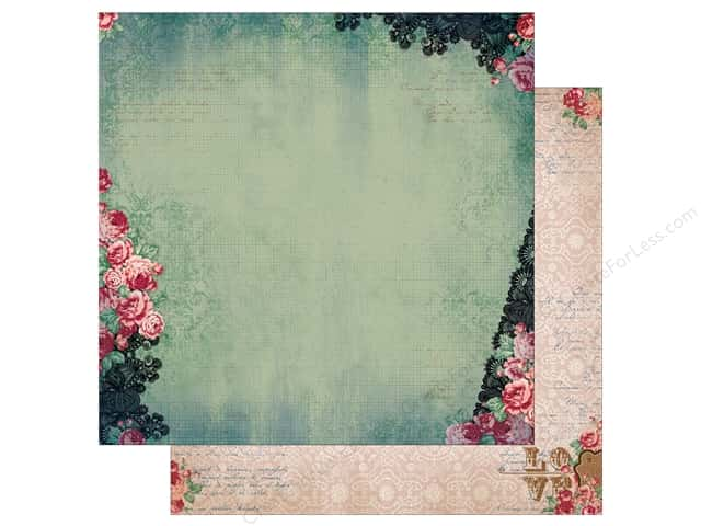 Bo Bunny 12 x 12 in. Paper Love & Lace Affection (25 sheets)