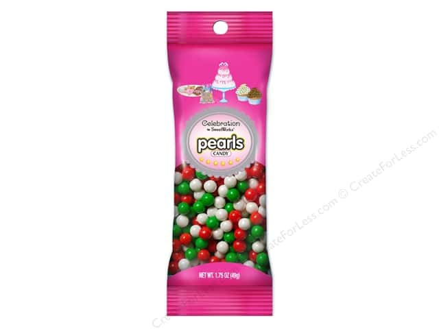 SweetWorks Celebration Pearls 1.75oz Christmas