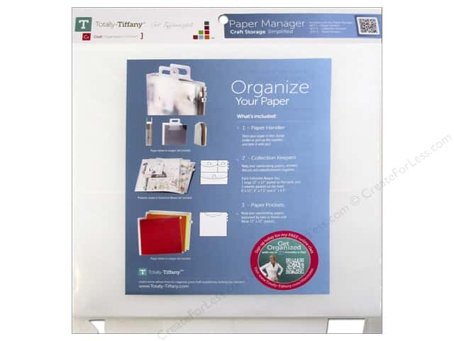Totally Tiffany Organizers Paper Manager Kit