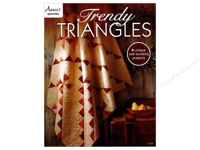 Trendy Triangles Book by Annie's