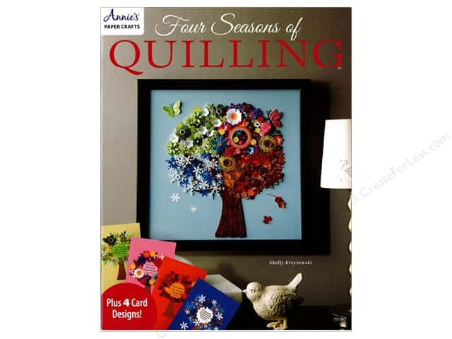 Annie's Four Seasons of Quilling Book