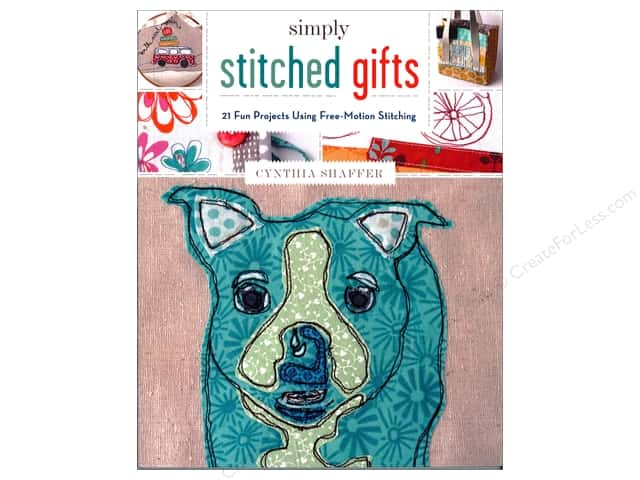 Lark Simply Stitched Gifts Book by Cynthia Shaffer