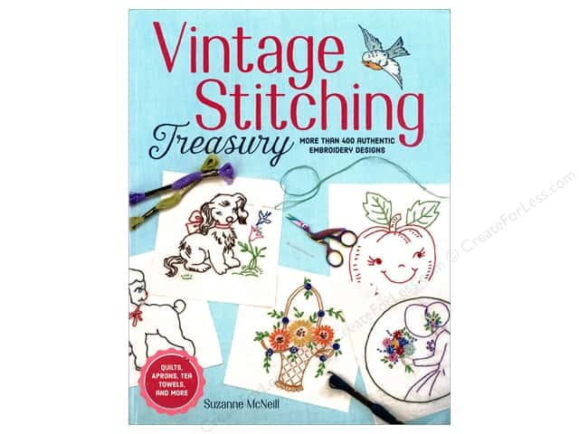 Design Originals Vintage Stitching Treasury Book