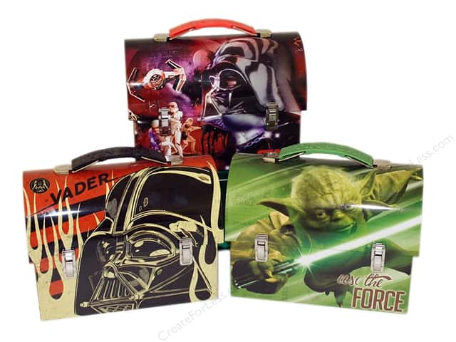 Tin Box Co Workman Carry All Star Wars 1 pc.