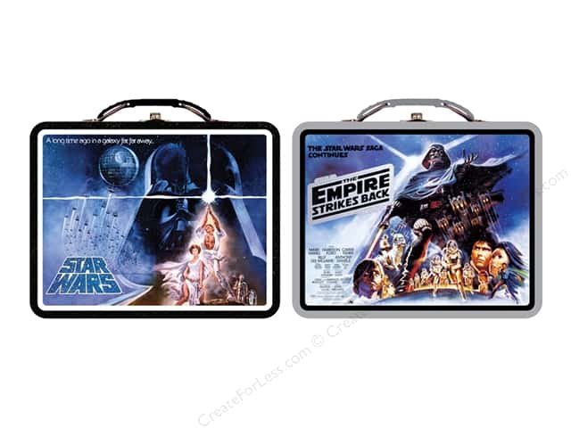 Tin Box Co Carry All Tin Large Star Wars 1 pc.