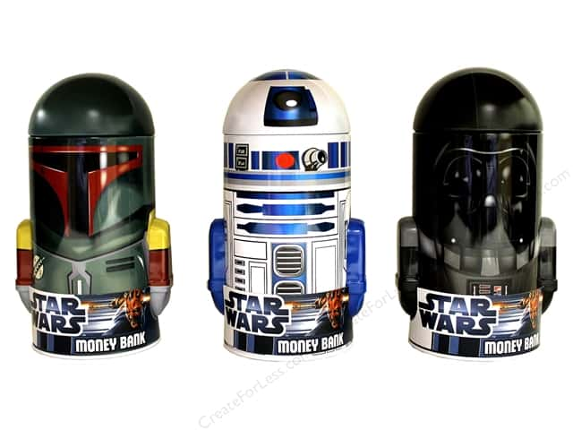Tin Box Co Coin Bank Star Wars 1 pc.