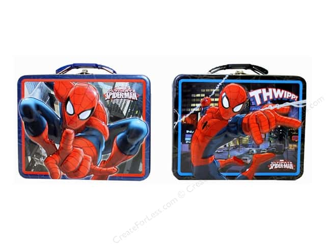 Tin Box Co Carry All Tin Large Spider Man 1 pc.