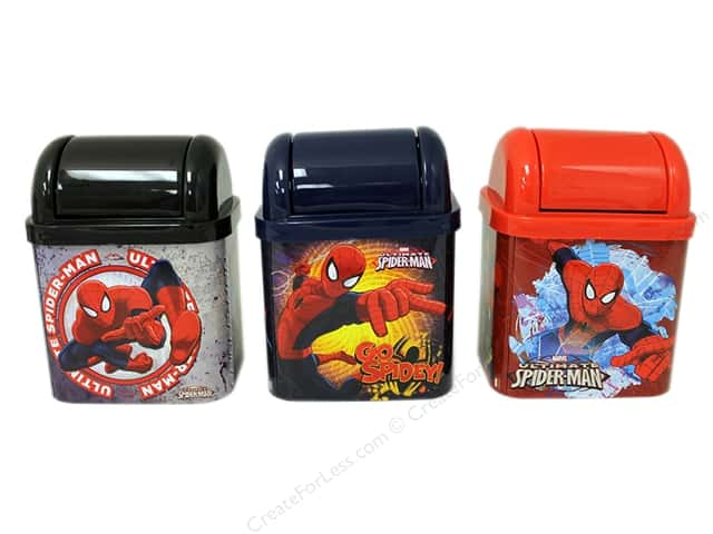 Tin Box Co Desktop Waste Bin Marvel Spider Man 1 pc.