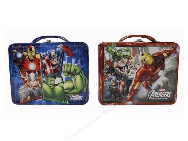 Tin Box Co Carry All Tin Large Marvel Avengers 1 pc.