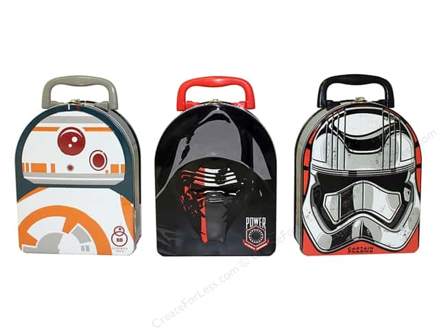 Tin Box Co Arch Shape Carry All Star Wars Episode 7 1 pc.