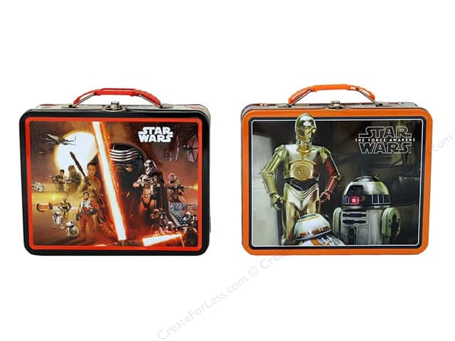 Tin Box Co Carry All Tin Large Star Wars Episode 7 1 pc.