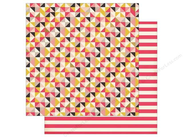 My Mind's Eye 12 x 12 in. Paper My Story Grandma's Quilt (25 sheets)