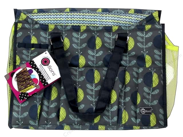 Creative Options Organizer Signature 5 Pocket Knitting Tote