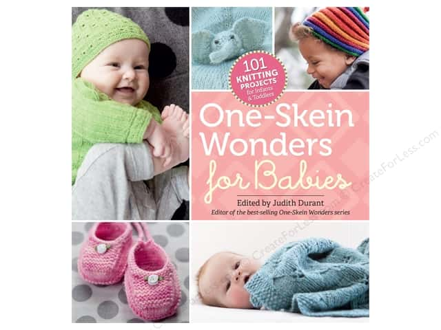 Storey Publications 101 Knitting Projects One Skein Wonders For Babies Book by Judith Durant