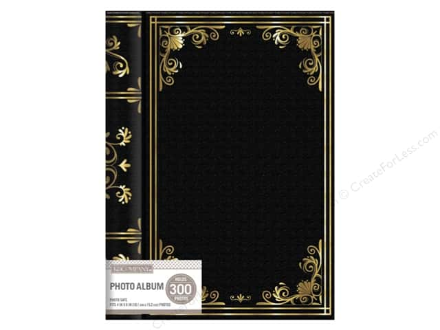 K&Company Photo Album Memo Spiral Library 3 UP Black