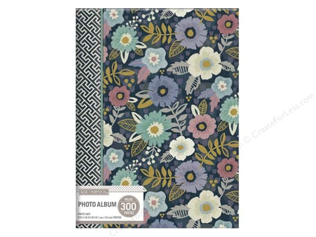 K&Company Photo Album Memo Spiral 3 UP Simple Floral
