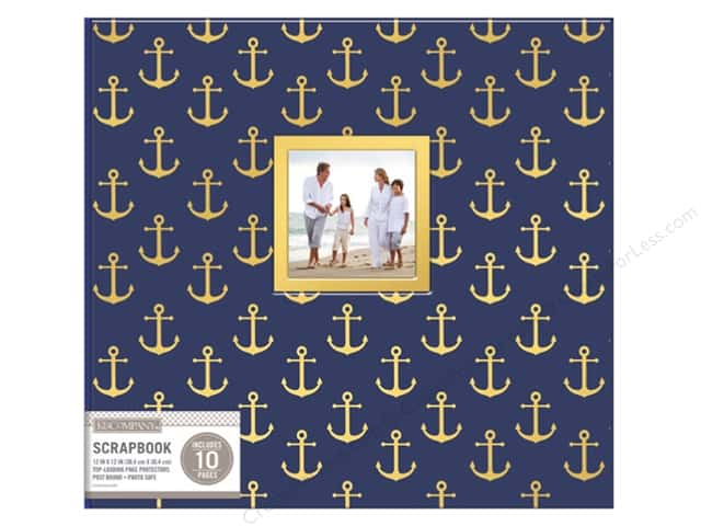 "K&Company Scrapbook Album 12""x 12"" Window Nautical"