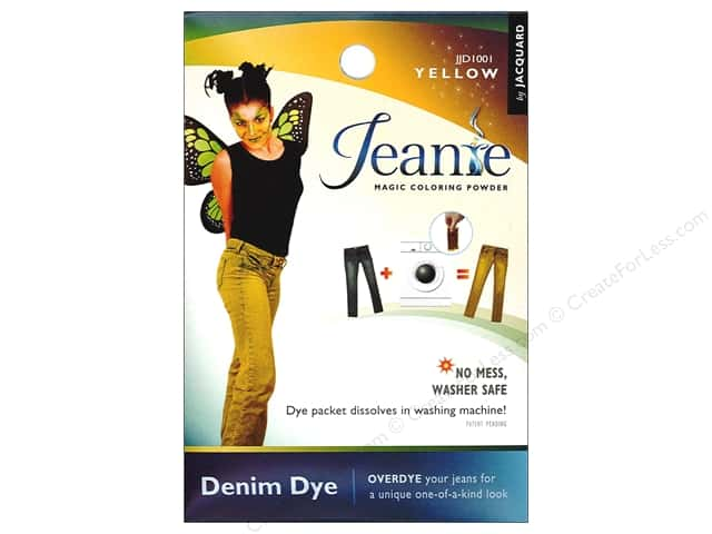 Jacquard Jeanie Denim Dye .49 oz. Yellow