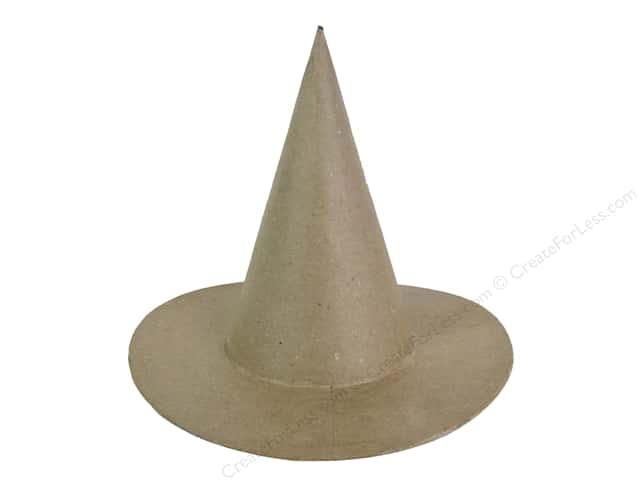 PA Paper Mache Witch Hat 8 in.