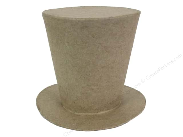 PA Paper Mache Mad Hatter Hat 3 3/4 in.