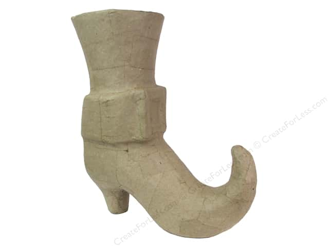 PA Paper Mache Elf Boot 10 in.