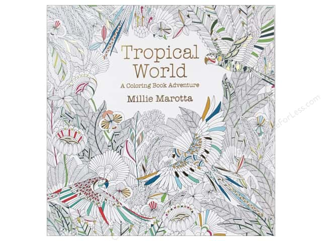 Lark Tropical World A Coloring Book Adventure