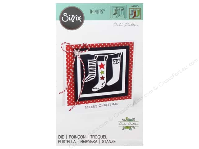 Sizzix Thinlits Die 1 pc. Christmas Stockings