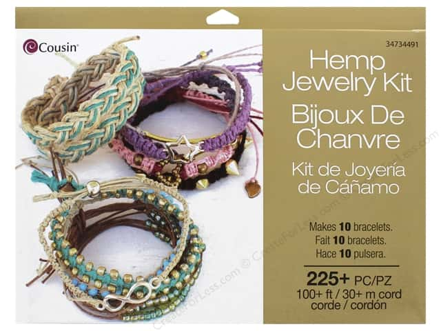 Cousin Kit Jewelry Hemp