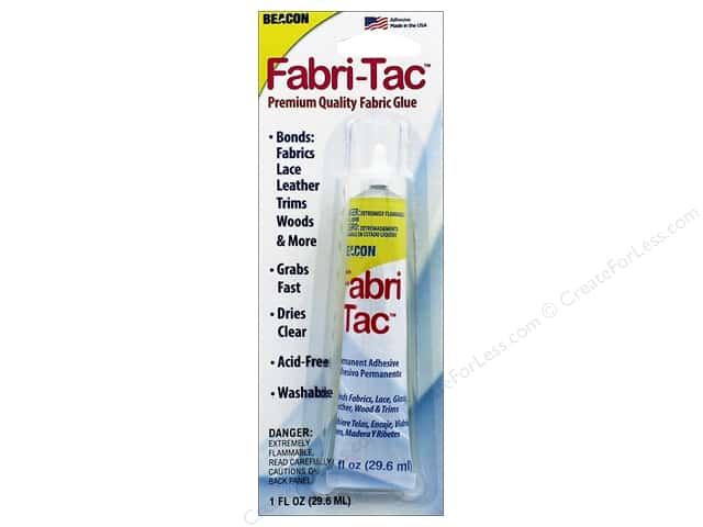 Beacon Fabri-Tac Permanent Adhesive 1 oz. Precision Tip