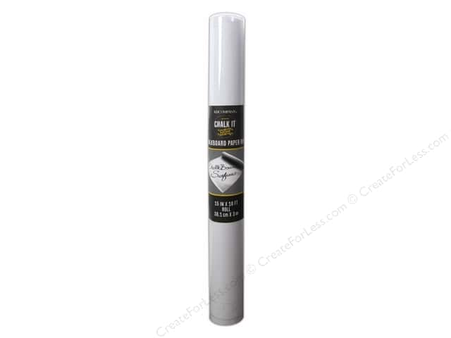 K&Company Chalk It Now Chalkboard Paper Roll White