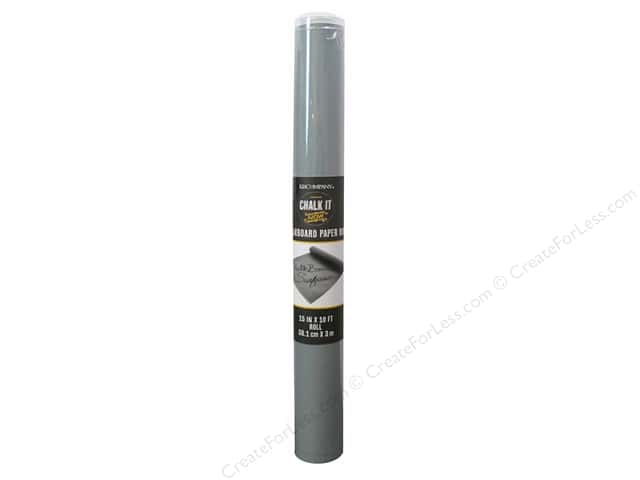 K&Company Chalk It Now Chalkboard Paper Roll Grey