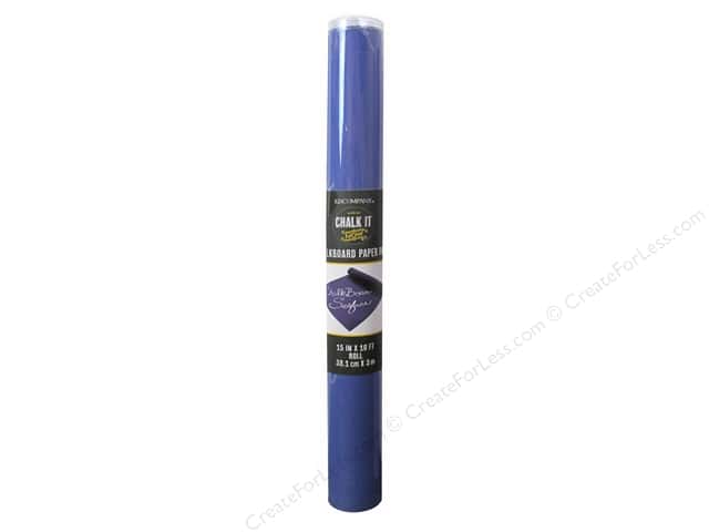 K&Company Chalk It Now Chalkboard Paper Roll Cobalt