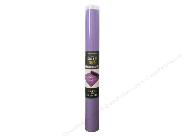 K&Company Chalk It Now Chalkboard Paper Roll Purple