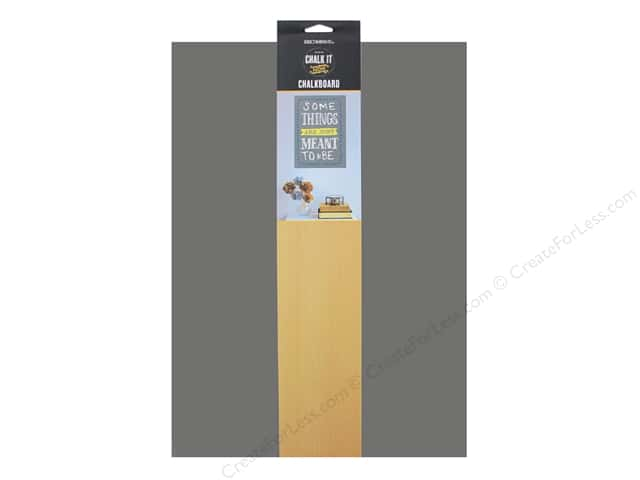 "K&Company Chalk It Now Chalkboard Traditional 10.5""x 16"" Grey"