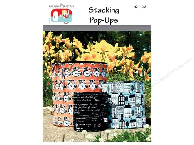 The Fat Quarter Gypsy Stacking Pop-Up Pattern